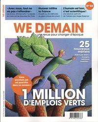 Antoine Lannuzel - We Demain N° 32, novembre 2020 : 1 million d'emplois verts.