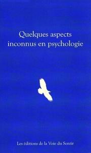 Internationa College - Quelques aspects inconnus en psychologie - Des femmes initiées.