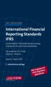 International Financial Reporting Standards IFRS - IDW Textausgabe einschließlich International Accounting Standards (IAS) und Interpretationen. Die amtlichen EU-Texte Englisch-Deutsch, Stand: Januar 2013.