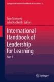 Tony Townsend - International Handbook of Leadership for Learning. Part 1 + Part 2.