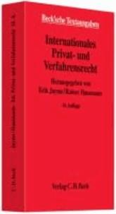 Internationales Privat- und Verfahrensrecht.