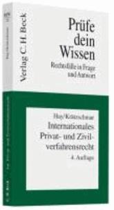 Internationales Privat- und Zivilverfahrensrecht - Rechtsstand: Januar 2010.