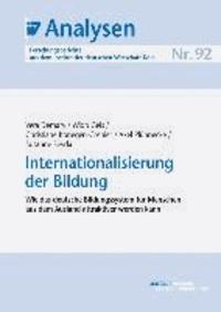 Internationalisierung der Bildung - Wie das deutsche Bildungssystem für Menschen aus dem Ausland attraktiver werden kann.