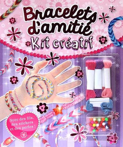 InTexte - Bracelets d'amitié - Avec des fils, des stickers et des perles.