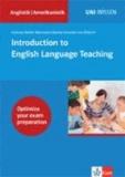 Introduction to English Language Teaching.