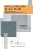 Ioan Panzaru et Dana Popescu-Jourdy - Nouvelles approches de la rationalité - Défis contemporains des sciences humaines et sociales.