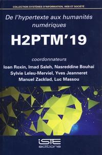 Ioan Roxin et Imad Saleh - De l'hypertexte aux humanités numériques - Actes de H2PTM'19, 16, 17 et 18 octobre 2019 au campus universitaire de Montbéliard.