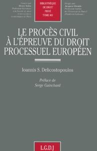 Birrascarampola.it Le procès civil à l'épreuve du droit processuel européen Image