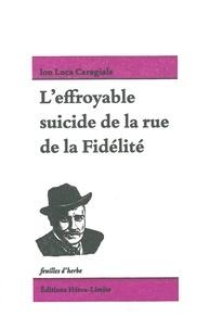 Deedr.fr L'effroyable suicide de la rue de la Fidélité Image