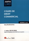 Iony Randrianirina - Cours de droit commercial.
