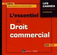 L'essentiel du droit commercial - Iony Randrianirina pdf epub