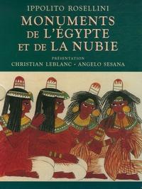 Ippolito Rosellini - Monuments de l'Egypte et de la Nubie - Dessins de l'expédition franco-toscane de 1828.