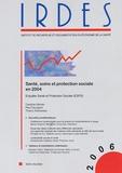 Caroline Allonier et Paul Dourgnon - Biblio N° 1621, Janvier 200 : Santé, soins et protection sociale en 2004 - Enquête Santé et Protection Sociale (ESPS).