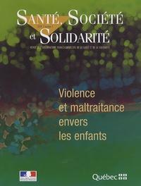 Pierre Gottely - Santé, Société et Solidarité N° 1/2009 : Violence et maltraitance envers les enfants.