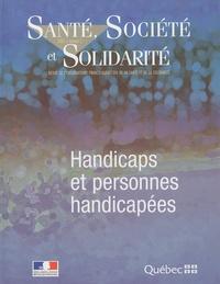 Pierre Gottely - Santé, Société et Solidarité N° 2, 2005 : Handicaps et personnes handicapées.
