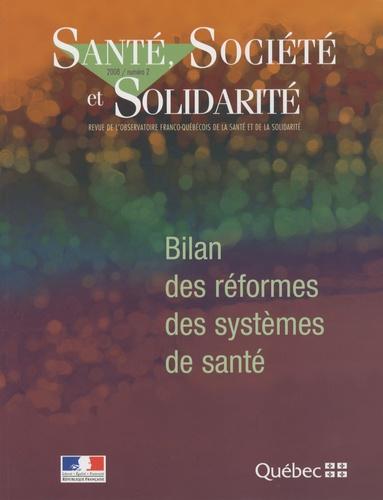 Pierre Gottely - Santé, Société et Solidarité N° 2 : Bilan des réformes des systèmes de santé.