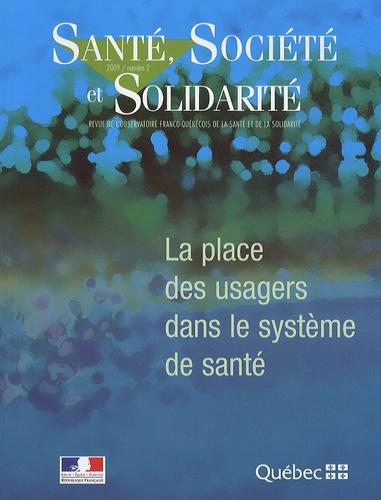 Pierre Gottely - Santé, Société et Solidarité N° 2 : La place des usagers dans le système de santé.