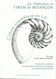IREM de Besançon - Culture scientifique en LP - Nombre d'or, relativité et autres divertissements scientifiques au lycée professionnel.