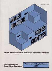 François Pluvinage et Philippe-R Richard - Annales de didactique et de sciences cognitives Volume spécial 2018 : .