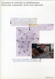 IREM de Lyon - Narrations de recherche en mathématiques - Ecrire pour comprendre, écrire pour apprendre. 1 Cédérom