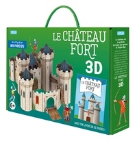 Irena Trevisan - Le château fort 3D - Avec un livre de 32 pages.