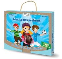 Irena Trevisan et Aurélien Sourire - Mes sports préférés - Lis, devine, colorie et colle les autocollants !.