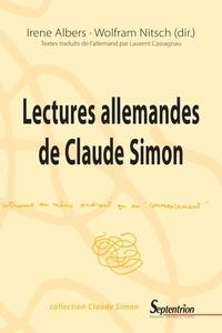 Irene Albers et Wolfram Nitsch - Lectures allemandes de Claude Simon.