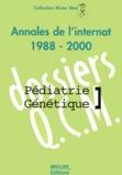 Irène de Kerdaniel-Ariche - Pédiatrie-Génétique. - Annales de l'internat 1988-2000.