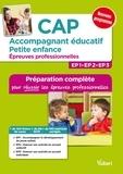 Irène Duchesne et Valérie Jacob - CAP Accompagnant éducatif petite enfance - Epreuves professionnelles.