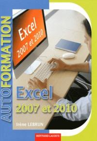 Excel 2007-2010- L'essentiel des fonctions de base et avancées - Irène Lebrun pdf epub