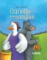 Irène Lumineau - Canette et le sanglier.