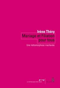 Deedr.fr Mariage et filiation pour tous - Une métamorphose inachevée Image