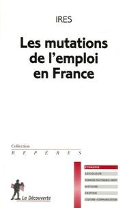 Lesmouchescestlouche.fr Les mutations de l'emploi en france Image