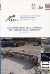 IREX - Recommandations pour la maîtrise des phénomènes de fissuration - Comportement et évaluation des ouvrages spéciaux vis-à-vis de la fissuration et du retrait.