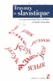 Irina Kor Chahine et Charles Zaremba - Travaux de slavistique.