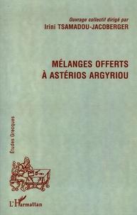 Deedr.fr Mélanges offerts à Astérios Argyriou Image