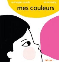 Iris de Moüy - Mes couleurs - Un imagier puzzle.