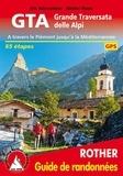 Iris Kürschner et Dieter Haas - Grande traversata delle Alpi - Traversée du Piémont en 65 jours jusqu'à la Méditerranée.