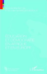 Irma Julienne Angue Medoux - Education et démocratie en Afrique et en Europe.
