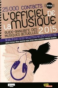 IRMA - L'officiel de la musique 2015.