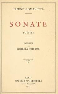 Irmine Romanette et Georges Guiraud - Sonate.