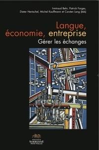 Deedr.fr Langue, économie, entreprise - Gérer les échanges Image