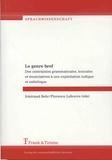 Irmtraud Behr et Florence Lefeuvre - Le genre bref - Des contraintes grammaticales, lexicales et énonciatives à une exploitation ludique et esthétique.