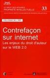IRPI - Contrefaçon sur internet - Les enjeux du droit d'auteur sur le Web 2.0.