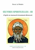 Isaac le Syrien - Oeuvres Spirituelles III.