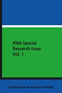 Isaac Olawale Albert et Raji A. Bello - IFRA Special Research Issue Vol. 1.