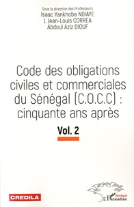 Deedr.fr Code des Obligations civiles et commerciales du Sénégal (C.O.C.C) : cinquante ans après - Volume 2 Image