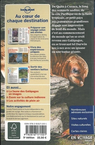 Equateur et îles Galapagos 5e édition