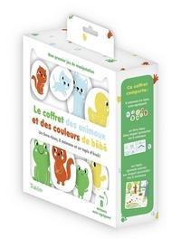Le coffret des animaux et des couleurs de bébé - Un livre-tissu avec 8 animaux et un tapis déveil.pdf