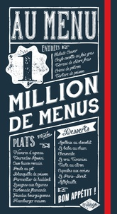 Isabel Brancq-Lepage - Au menu - 1 million de menus.